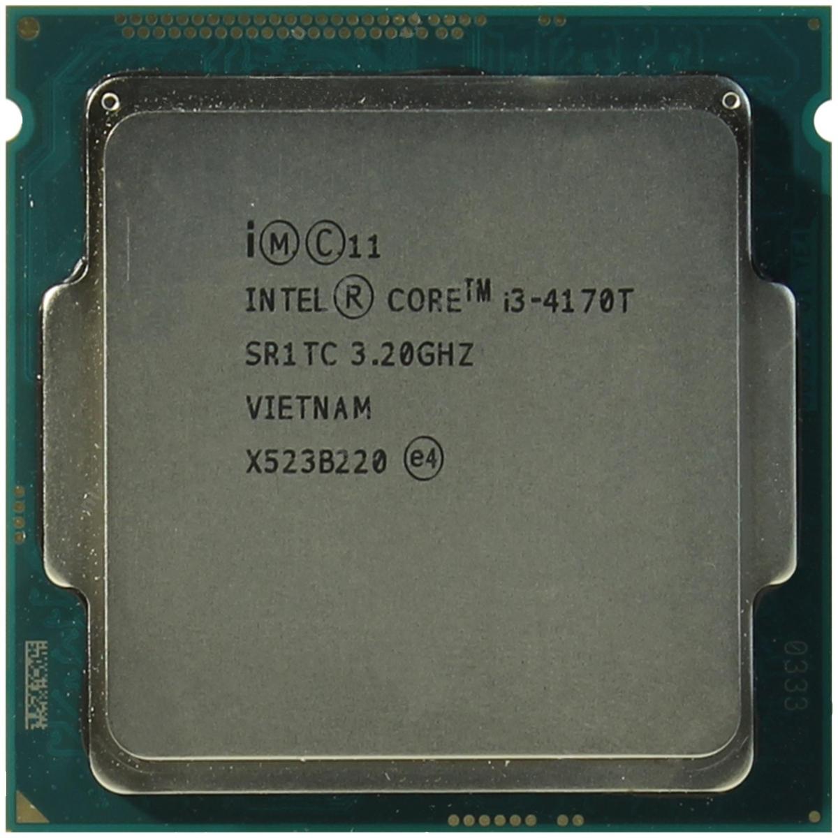 INTEL CORE I3 4170T (3 MB ქეშ მეხსიერება, 3.2 GHZ) TRAY