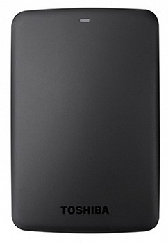 TOSHIBA CANVIO BASICS HDD USB 3.0 1TB BLACK