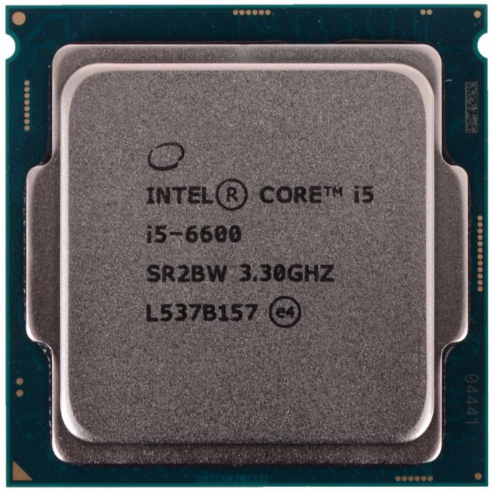 INTEL CORE I5 6600 (6 MB ქეშ მეხსიერება, 3.3 GHZ) TRAY
