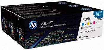 HP 304A TRI PACK (CF372AM)