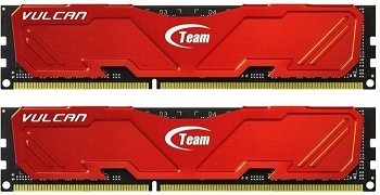 TEAM VULCAN 8GB (2 X 4GB) DDR3 1600MHZ