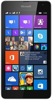 MICROSOFT LUMIA 535 DUAL 8GB WHITE