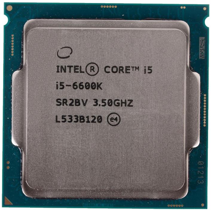 INTEL CORE I5 6600K (6 MB ქეშ მეხსიერება, 3.5 GHZ) TRAY