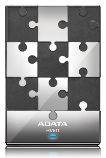 A-DATA HV611 500GB USB3.0 BLACK