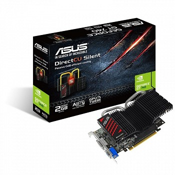 ASUS NVIDIA GEFORCE GT 740 2 GB (GT740-DCSL-2GD3)