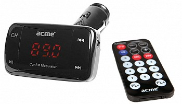 მანქანის FM მოდულატორი ACME CF100-01