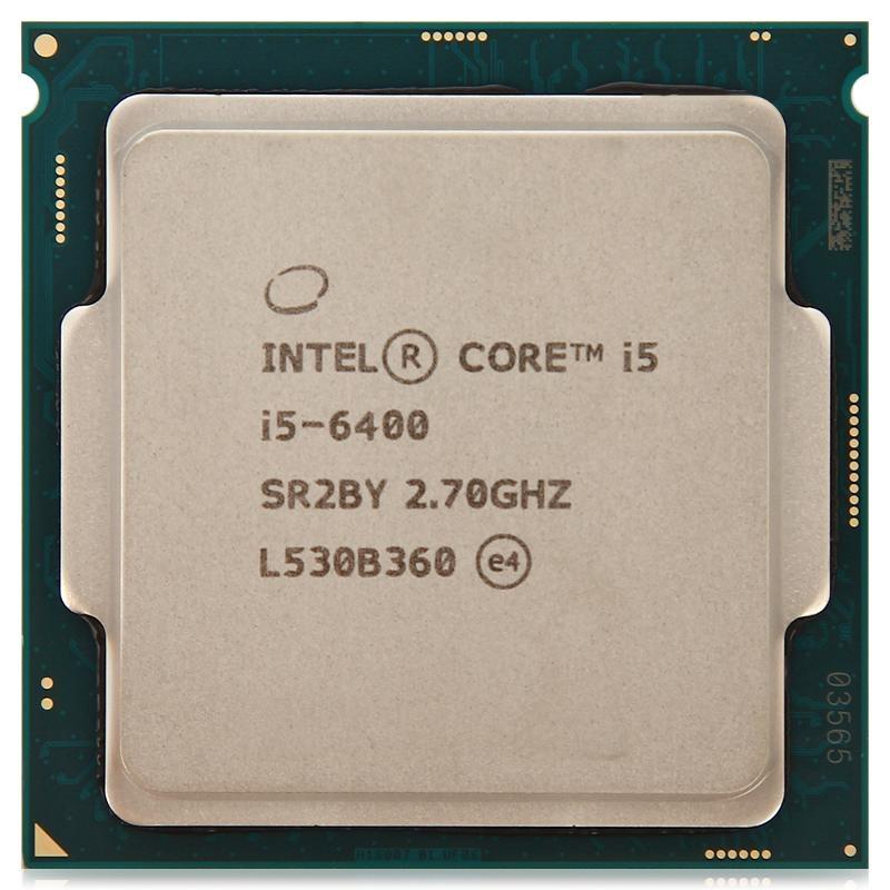 INTEL CORE I5 6400 (6 MB ქეშ მეხსიერება, 2.7 GHZ) TRAY