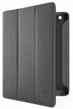 BELKIN TRI-FOLD FOLIO WIHT STAND FOR IPAD BLACK F8N758CWC00