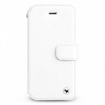 ZENUS IPHONE 5/5S PRESTIGE MINIMAL DIARY CASE WHITE