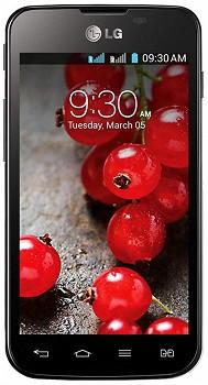 LG OPTIMUS L5 DUAL II E455 BLACK