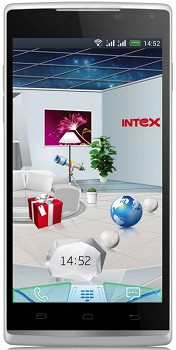 INTEX AQUA HD 4GB WHITE