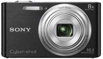 SONY CYBER-SHOT DSC-W730 BLACK