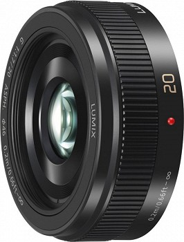 PANASONIC H-H020AE-K 20MM BLACK