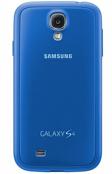 SAMSUNG GALAXY S4 PROTECTIVE BACK COVER LIGHT BLUE