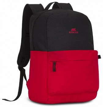 RIVACASE 15.6 BACKPACK (4260403575468) BLACK/RED