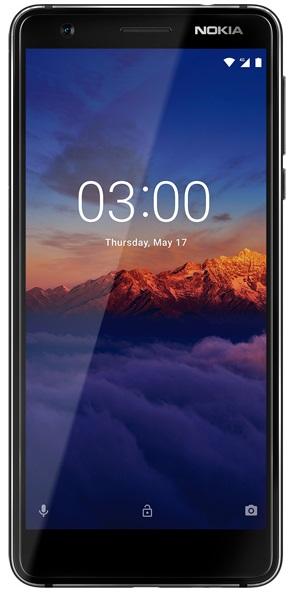 მობილური ტელეფონი NOKIA 3.1 (TA-1063) 16GB BLACK