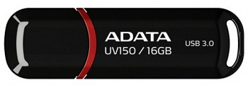 ADATA DASHDRIVE UV150 16GB BLACK (AUV150-16G-RBK)