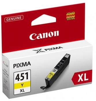 CANON CLI-451XL (6475B001AA) YELLOW