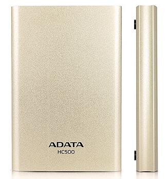 A-DATA HC500 500GB USB3.0 GOLDEN