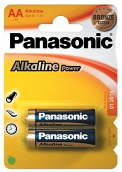PANASONIC ALKALINE POWER (LR6APB/2BP)