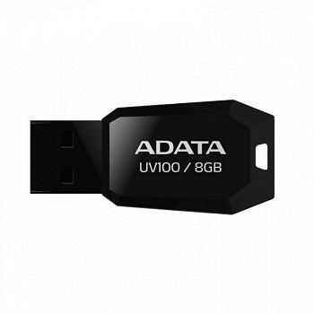 ADATA CLASSIC UV100 8GB BLACK USB 2.0 (AUV100-8G-RBK)
