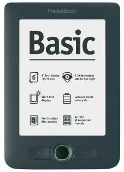 POCKETBOOK BASIC NEW 613 (613-G-CIS) 2GB GREY