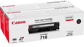 CANON TWIN PACK 718  (2662B005AA)