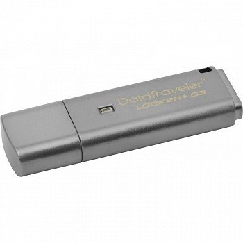 KINGSTON DATATRAVELER LOCKER+ G3 8GB USB 3.0