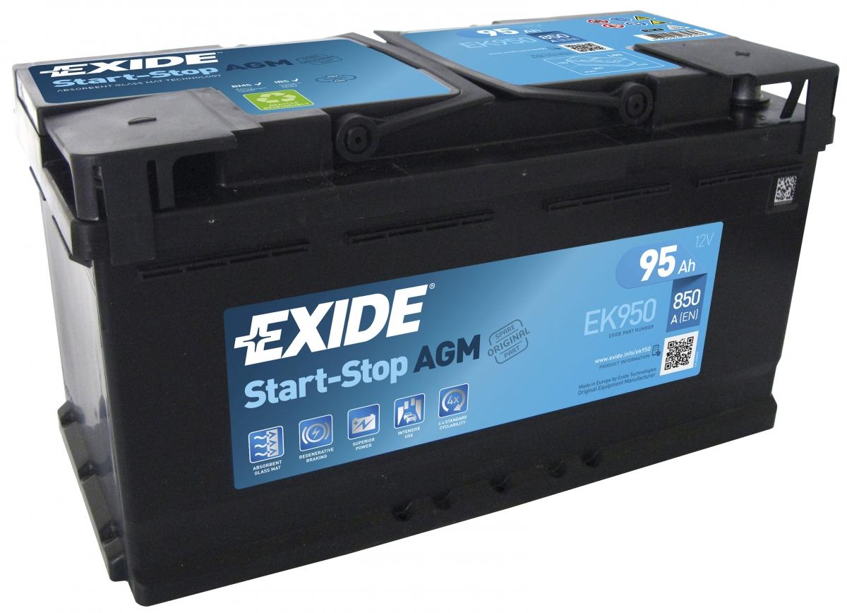 EXIDE AGM 95 ა/ს EK950