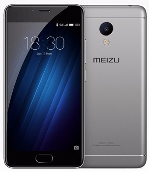 MEIZU M3S MINI 16GB DUAL SIM LTE GREY BLACK