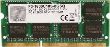 G.SKILL 8GB DDR3 1600MHZ (F3-1600C10S-8GSQ)