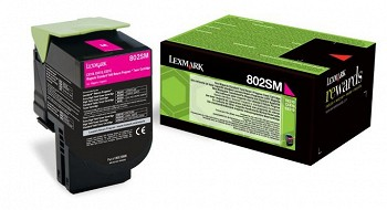 LEXMARK  80C2SM0  RETURN TONER