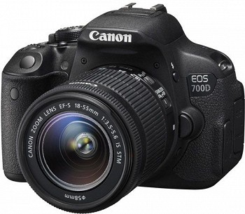 CANON EOS 700D 18-55 IS STM BLACK