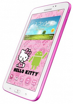 SAMSUNG SM-T210 GALAXY TAB 3 7.0 HALLO KITTY WHITE