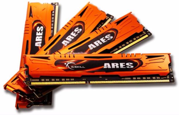 G.SKILL 32 GB (8 GB x 4) DDR3 1600 MHZ (F3-1600C10Q-32GAO)