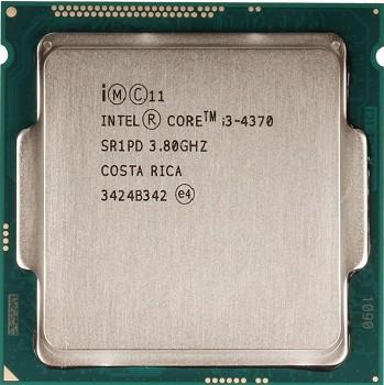 INTEL CORE I3 4370 (4 MB ქეშ მეხსიერება, 3.8 GHZ) Box