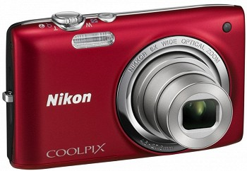 NIKON COOLPIX S2700 RED