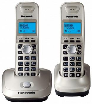 სტაციონარული ტელეფონი PANASONIC KX-TG2512UAM METALLIC
