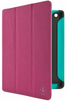 BELKIN FOLIO WITH STAND AND AUTOWAKE MAGNETS FOR IPAD PINK F8N784CWC02