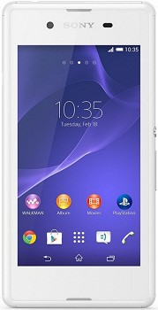 SONY XPERIA E3 (D2203) 4GB WHITE