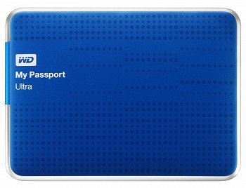 WD MY PASSPORT ULTRA USB 3.0 500 GB BLUE