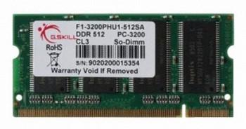 G.SKILL 512 MB DDR 400MHZ (F1-3200PHU1-512SA)