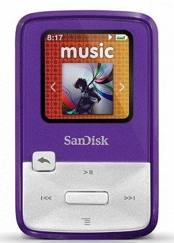 SANDISK SANSA CLIP ZIP 4GB PURPLE