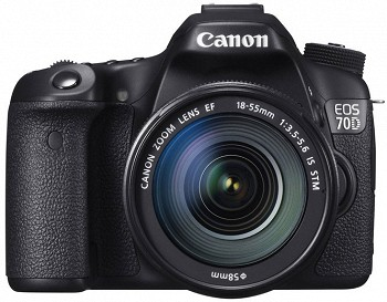 CANON EOS 70D KIT 18-55 IS BLACK