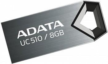 ADATA CHOICE UC510 8GB TITANIUM USB 2.0 (AUC510-8G-RTI)