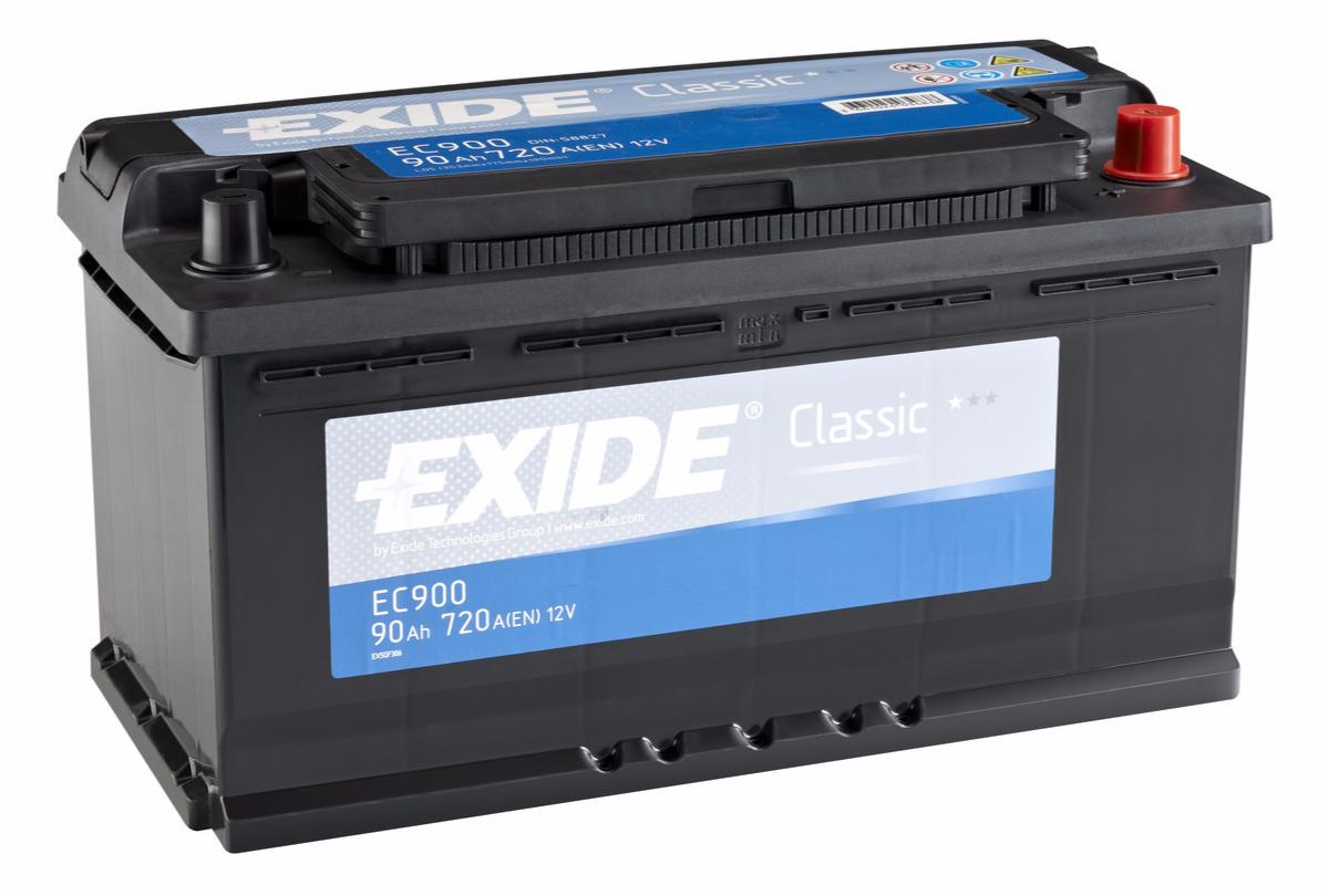EXIDE CLASSIC 90 ა/ს EC900