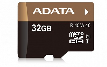 A-DATA PREMIER PRO MICROSDHC UHS-I 32 GB CLASS 10 + SD ADAPTER