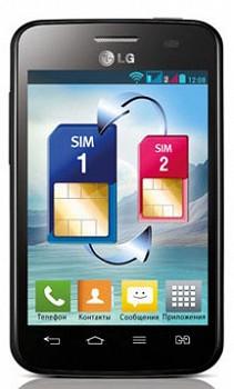 LG OPTIMUS L3 II DUAL E435 BLACK