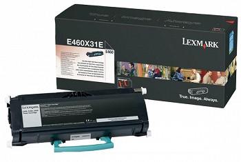 LEXMARK BLACK E460X31E