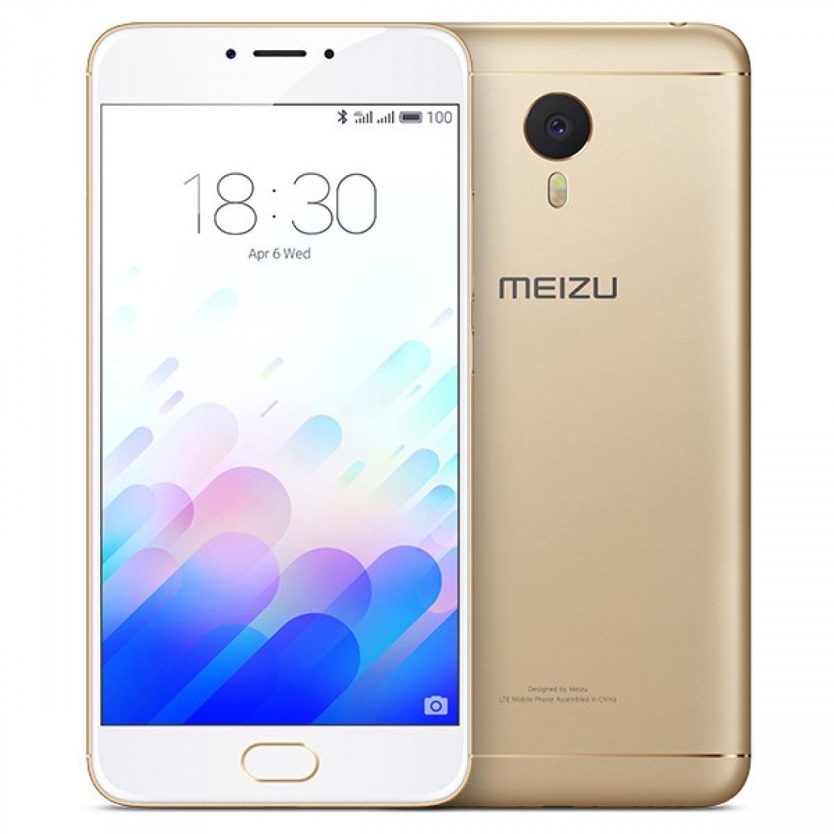 MEIZU M3 NOTE 32GB DUAL SIM LTE GOLD WHITE